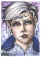 Aryessa ACEO by ConnieFaye