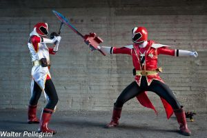 Shinkenger to the rescue! - V by SilviaArts