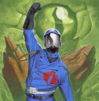 Cobra Commander by MartinHanford1974