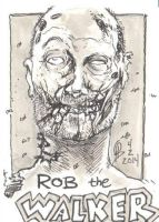 4/2/2014 Daily Sketch Card - Rob (the) Walker by tbeistel