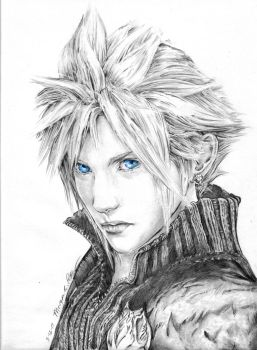 Cloud Strife by MoPotter