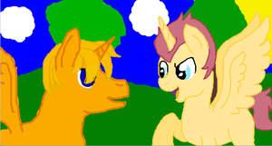 Iscribble with Random by Wolfsonic602