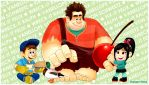 Wreck-It Ralph- A Sweet Ol' Time by ihearrrtme