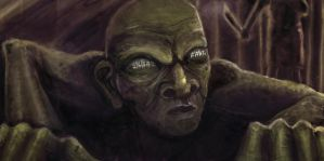 ok ok, so it looks like gollum by memoriesofnam