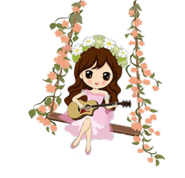 SNSD Seohyun Romantic Fantasy Chibi ~PNG~ by JaslynKpopPngs