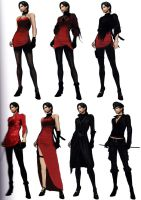 Ada RE6 Extra Costumes 3 by Sparrow-Leon