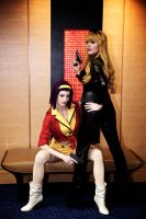 Faye and Julia Cosplay - Cowboy Bebop by Kapalaka
