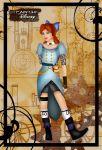 Steampunk Wendy by HelleeTitch