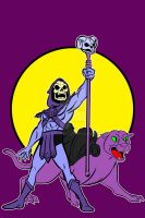 skeltor and panthor by AlanSchell