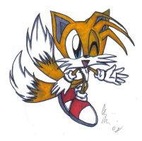 Tails Miles Prower by chaixing