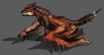 MH3 - Rathalos by IIReII
