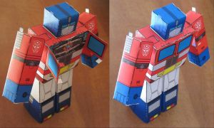 Optimus Prime with The Matrix by aim11
