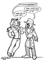 Rorschach n' Me-- Glomp Issues by AetheriumDreams