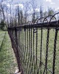 An Old Metal Fence by Hertz18360