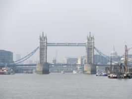 Tower Bridge by SquigglyButterfly