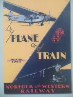 TAT-NWR-ATSF - By Plane and Train by rlkitterman