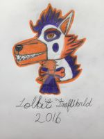 Lolbit fox animatronic by Glacierlioness