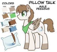 Pillow Talk Reference by LittlePinkAlpaca