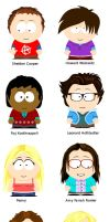 South Park: Big Bang Theory by Jaybzieh