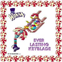 Willy Wonka keyblade by frgrgrsfgsgsfgggsfsf