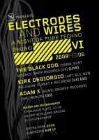Electrodes And Wires flyer by corrodingsun