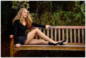 Eowyn - park bench 1 by wildplaces