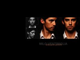 Wallpaper - Milo Ventimiglia by liuqid-it