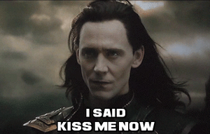 Kiss Me Now--(Gif) by MischievousMonster