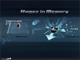 Names in Memory by HSNstorage