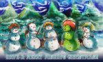 Merry Mishaps Christmas Banner II by timberking
