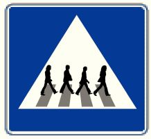 Abbey Road Sign by CyranoInk