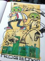 Frogboy sketches by art4oneking