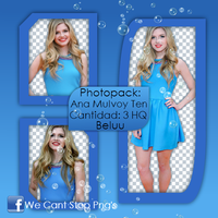 Photopack Png Ana Mulvoy Ten #1 by BeluuBieberEditions