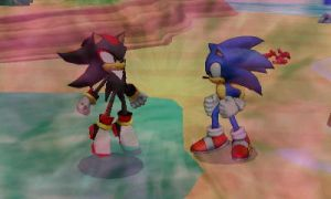 [SSB3DS] Sonic and Shadow by ZeFrenchM