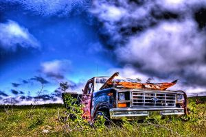 Abandoned Ford HDR by Witch-Dr-Tim