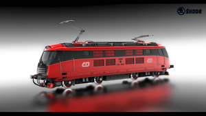 Locomotive concept Skoda by Montezuma-original