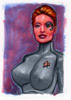 7 of 9 Sketch Card... by ssava