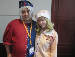 Anime Weekend Atlanta 2013-Eirin and Sasami by jay421501
