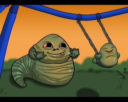 Papa the Hutt by AntVar