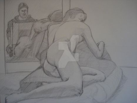 Figure II InClass Drawing 5 by TheCelticViking