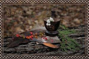 Samhain Greeting card ver.2 by cezare-me