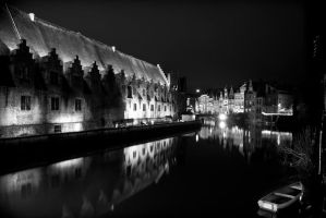 Ghent by night III by charlomer