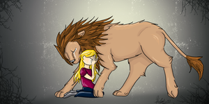 Weeping Lion by Storybird
