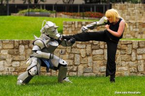 FMA: Sparring by CrossRage