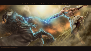 The Defiance of Zeus by nickhuddlestonartist