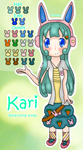 Kari - Reference Sheet by Ayukiyama