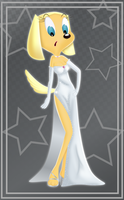 Silver Dress Brandy by rainbownspeedash