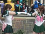 Katsucon 2013 Sailor Jupiter fist pound by VocaloidBrit