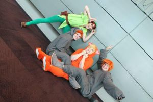 PeterPan and the Lost Boys by Baby-Ghost
