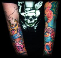 My sleeves so far by jerrrroen